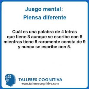 juego pensar